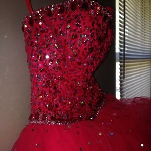 Mori Lee Rhinestone Dress